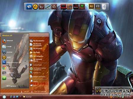 钢铁侠XP主题 Iron Man XP Themes